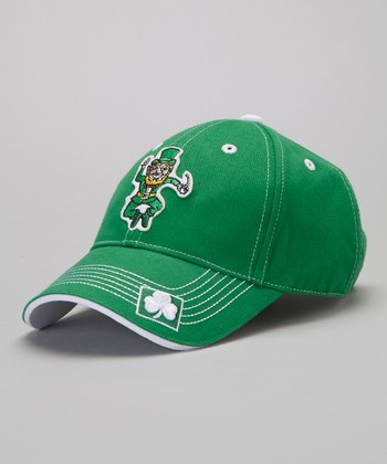Green & White Leprechaun Cap