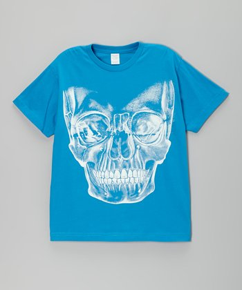 Cobalt X-Ray Skull Tee - Toddler & Boys