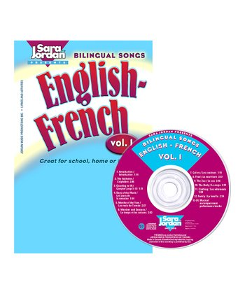 Bilingual Songs: English-French Vol. 1 CD & Lyrics Book