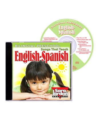 Bilingual Preschool: English to Spanish CD