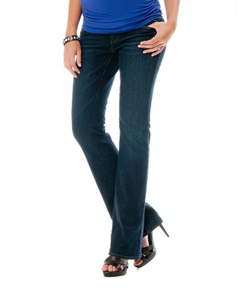 Indigo Secret Fit Belly® Maternity Bootcut Jeans