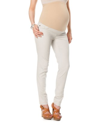 !iT Jeans Gray Secret Fit Belly® Five-Pocket Maternity Jeans