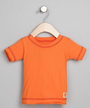 Urban Munchkin Far East Orange Organic Tee - Infant & Toddler