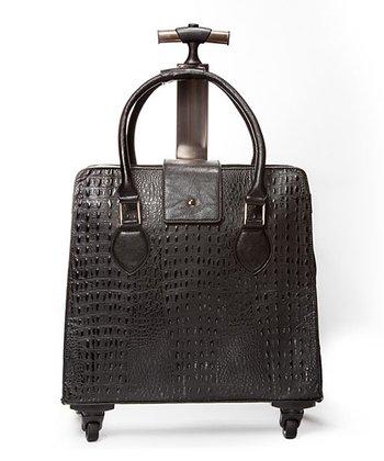 Black Crocodile 18'' Carry On