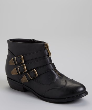 Black Sassari Ankle Boot
