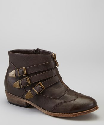 Brown Sassari Ankle Boot