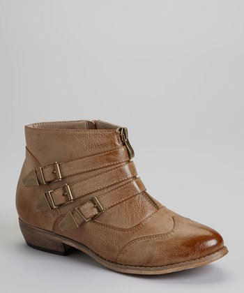 Tan Sassari Ankle Boot