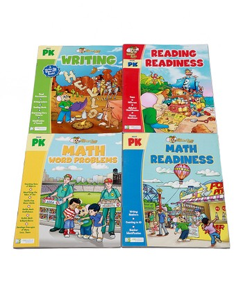Pre-K Math, Reading & Writing Workbook Set