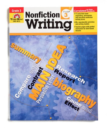 Nonfiction Writing: Grade 3 Workbook