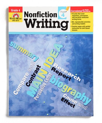 Nonfiction Writing: Grade 4 Workbook