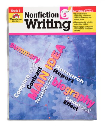 Nonfiction Writing: Grade 5 Workbook