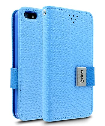 Blue Gazette Case for iPhone 5