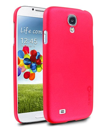 Red Stealth Shimmer Case for Galaxy S4