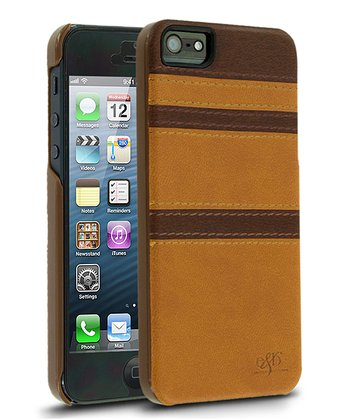 Chestnut Stitch Leather Case for iPhone 5