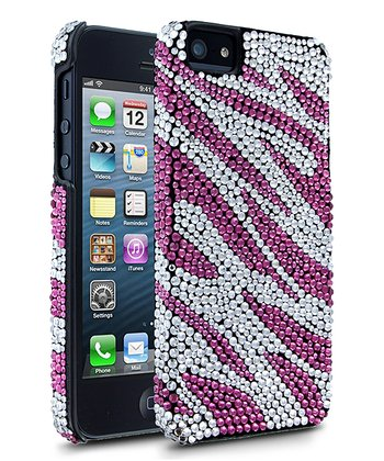 Pink Zebra Case for iPhone 5