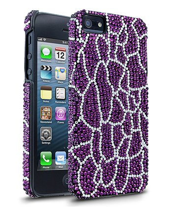 Purple Giraffe Case for iPhone 5