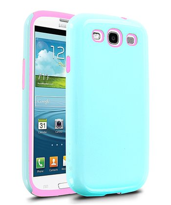 Blue & Pink Aero Case for Galaxy S III