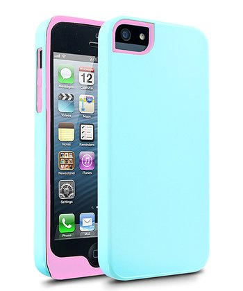 Blue & Pink Aero Case for iPhone 5