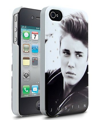 Black & White 'Justin' Case for iPhone 4/4S