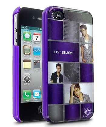 Purple 'Just Believe' Case for iPhone 4/4S