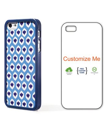 Aqua Ikat Case for iPhone 4/4S