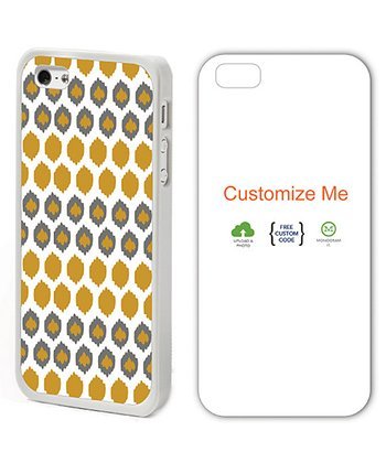 White & Yellow Perry Case for iPhone 4/4S