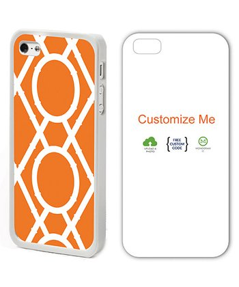 Orange & White Clementine Case for iPhone 4/4S