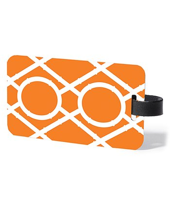 Orange Clementine Luggage Tag