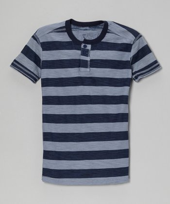 Clearwater Stripe Henley
