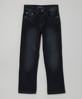 Dark Navy Denim Jeans