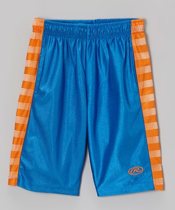 Deep Royal & Knicks Orange Shorts - Toddler & Kids