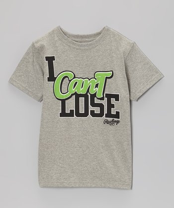 Light Gray Heather 'I Can't Lose' Tee - Kids