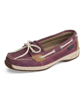 Purple Sunrise Boat Shoe
