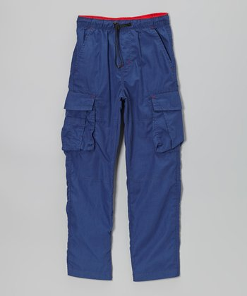 Blue Bungee Cargo Pants