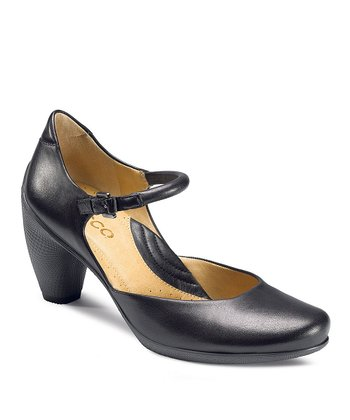 Black Sculptured 65 Mary Jane Pump