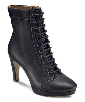 Black Navoi Lace Boot
