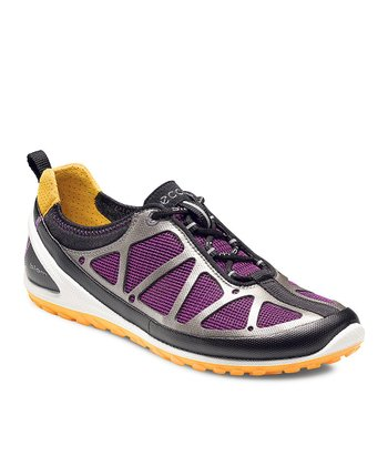 Black & Purple BIOM Lite Sneaker