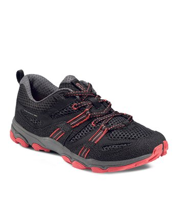 Black & Pink Ultra Trail Sneaker
