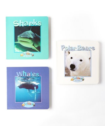Sharks, Polar Bears & Whales Board Book Set