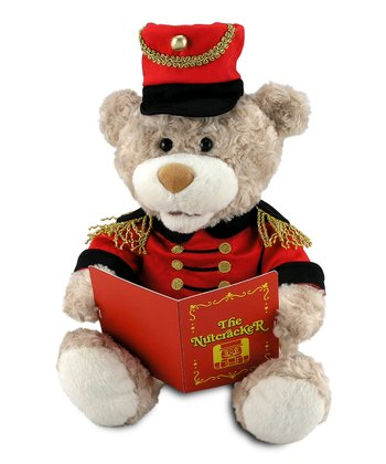 Nutcracker Teddy Musical Plush
