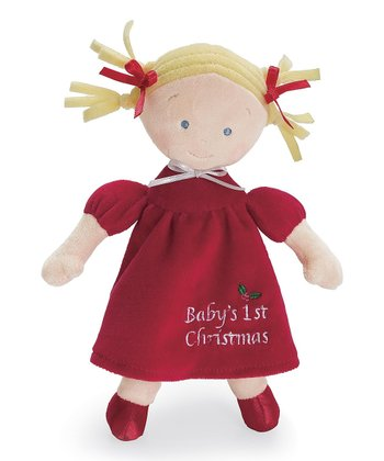 Blonde Little Princess™ Christmas Doll