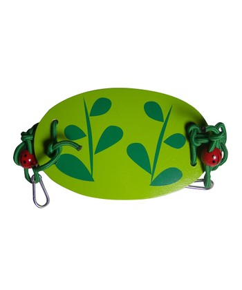 Green Leaf Rope Tree Swing