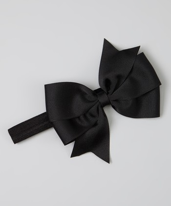 Black Bowtique Headband