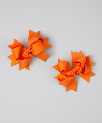 Orange Clip - Set of Two
