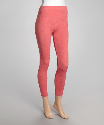 Heather Pink Leggings