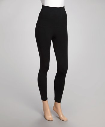 Black Banded Leggings