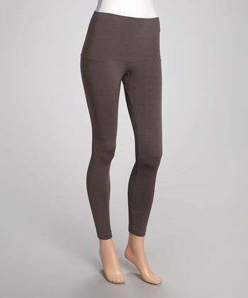 Gray Banded Leggings