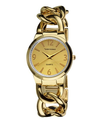 Gold The Bracelet Watch