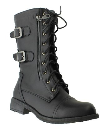 Black Almond Boot