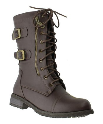 Brown Almond Boot